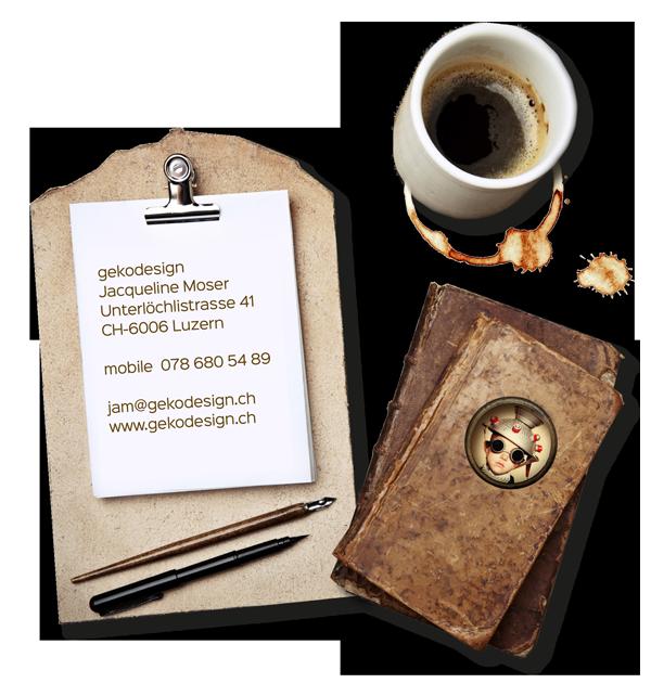 Kontakt via jam@gekodesign.ch